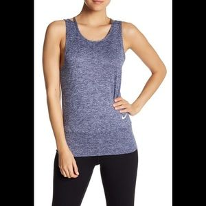 Nike Mesh T Back Athletic Tank Top Shirt M